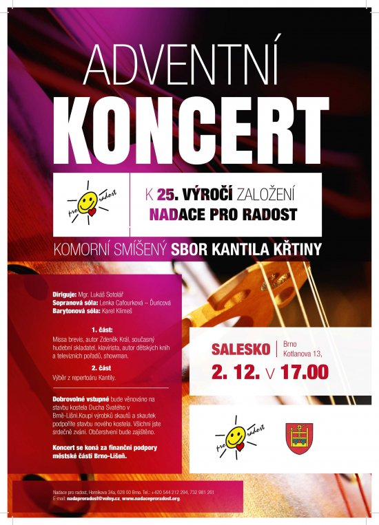 Koncert advent salesko